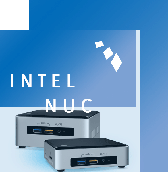 De Intel NUC, Next Unit Of Computing, is een zeer krachtig maar kleine PC