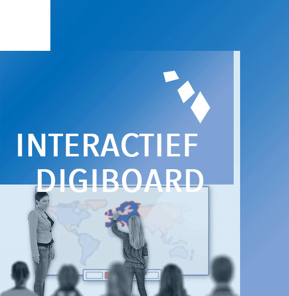 Digiborden van Activboard promethean i3 en nog veel meer.