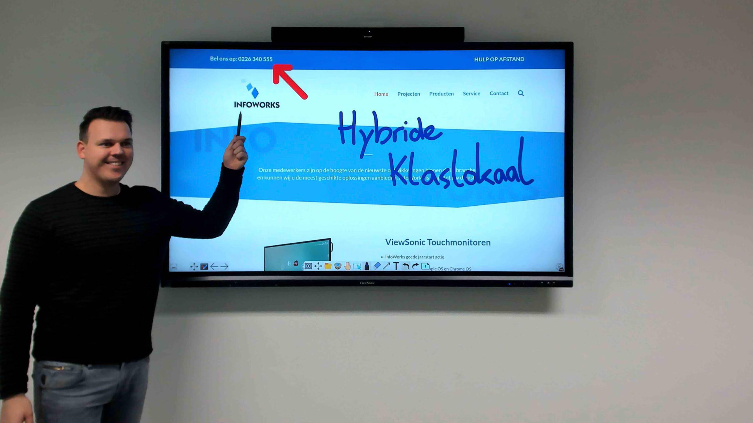 InfoWorks Hybride Klaslokaal